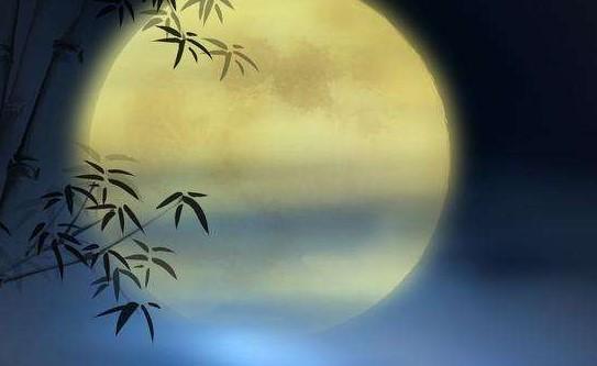 描写月亮的句子