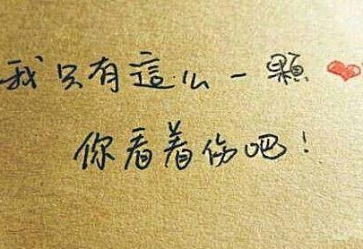心甘情愿的句子